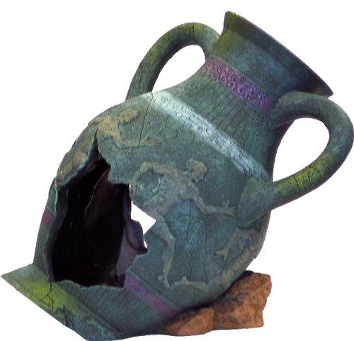 Blue Ribbon EE-822 Aquarium-Dekoration Exotic Environments griechische Vase