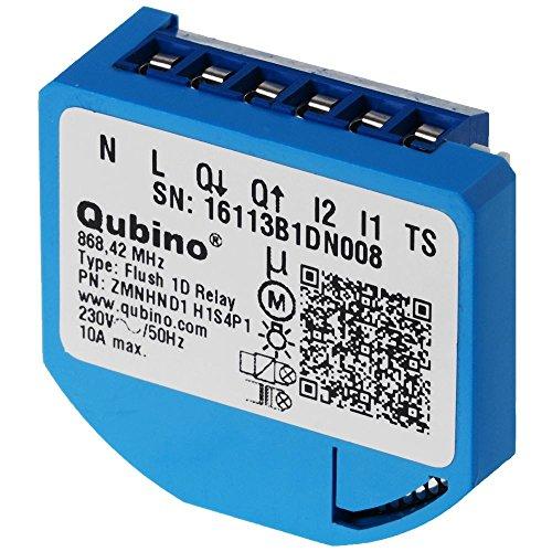 Qubino Flush 1D Unterputz-Mikromodul Relais Eu - Z-Wave Plus