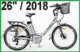 AKTION SONDERPREIS - POWERPAC - CITYBIKE 26' PEDELEC ELEKTROFAHRRAD E-BIKE FAHRRAD - hydr. Scheibenbremsen + Akku Li-Ionen 36V 16AH (576 Wh) - 2018