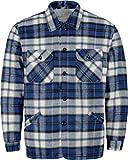 normani Herren Thermohemd Winterhemd Thermojacke Hemdjacke Blau/Weiß-Kariert Gr. S-XXXL Größe XXL