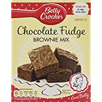 Betty Crocker Chocolate Fudge Brownie Mix 415 G (Pack of 6)