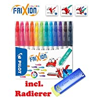 Pilot Frixion Colors Erasable Fibre Tip Colouring Pen