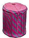Sauna vapeur portable rose/bleu gonflable