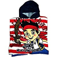 808e1434af OFFICIAL CARTOON CHARACTER CHILDRENS KIDS HOODED PONCHO BEACH BATH GIRLS  BOYS TOWEL (JAKE AND THE
