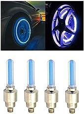 AutoStark Blue Car Tyre Led Light With Motion Sensor Set of 4 For Maruti Suzuki Swift Dzire New