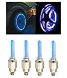 #10: AutoStark Blue Car Tyre Led Light With Motion Sensor Set of 4 For Maruti Suzuki Swift Dzire New