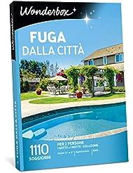 WONDERBOX Cofanetto Regalo per Coppia - Fuga dalla Città - 1110 SOGGIORNI per 2 Persone