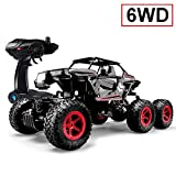 SZJJX 6WD RC Truck, Remote Control Off-Road Climbing Cars, 1/14 Scale High Speed