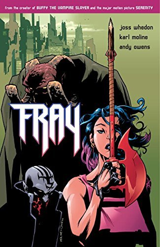 Fray: Future Slayer by Andy Owens (Artist), Karl Moline (Artist) › Visit Amazon's Karl Moline Page search results for this author Karl Moline (Artist), Joss Whedon (9-Dec-2003) Paperback