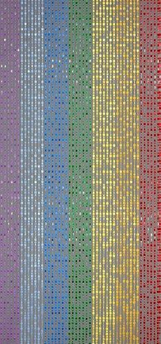 Designervorhang Kunststoffvorhang Türvorhang 'Colorado' ca. 90x200cm