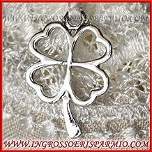 Ciondoli in argento per bomboniere for Amazon oggettistica
