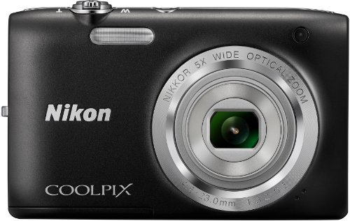 Nikon Coolpix S2800 20.1 MP Point and Shoot Digital Camera with 5x Optical Zoom (Black)  available at amazon for Rs.30899