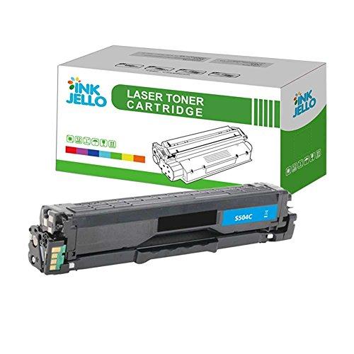 InkJello Compatibile Toner Cartuccia Sostituzione Per Samsung CLP-415N CLP-415NW CLX-4195FN CLX-4195FW Xpress SL-C1810W Xpress SL-C1860FW CLT-C504S (Ciano)