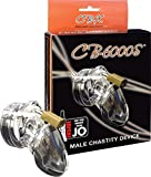 CB-X CB-6000S Chastity Cage Clear Small