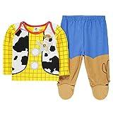 Character Wear - Pijama Entero - para bebé niño Azul/Amarillo