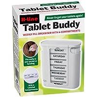 Preisvergleich für 7Tage Weekly Täglich Pille Box Veranstalter Tablet Medizin Storage Tabletten Spender 4ttimes Täglich