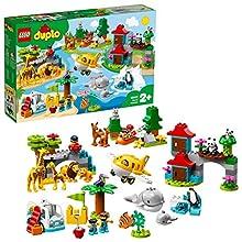LEGO Duplo Town - Gioco per Bambini Animali del Mondo, Multicolore, 6250751