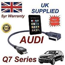 Audi Q7Cable AMI MMI de la serie para Amazon Kindle Fire HD 4F0051510M-Cable micro USB