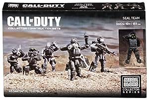 Mega Bloks - Call Of Duty - 6824 - Jeu De Construction - Equipe Seal