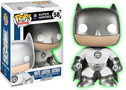 Glow Collection (Funko - Pop Collection - Batman - White lantern Glow in the dark - Exclu - 0849803045968)