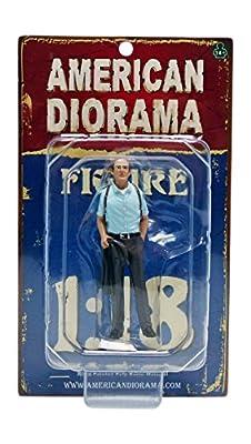 The Detective #2 Figur Polizei Modell 1:18 American Diorama AD-23892 von American Diorama