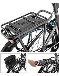 XLC carry more Packtaschenbügel passend für XLC carry more Adapterplatten, schwarz (1 Stück)