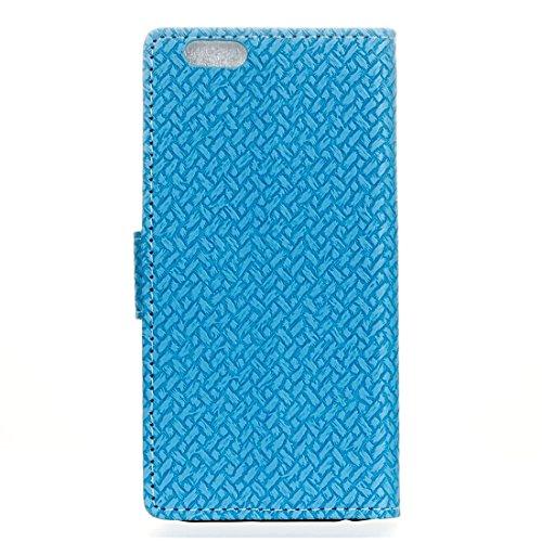 Phone case & Hülle Für iPhone 6 Plus / 6s Plus, Flash Powder Twinkling NightSky First Quarter Moon Pattern Soft TPU Schutzhülle ( Color : Black ) Blue
