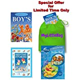 "Fairy Tales for Boys Bedtime Stories & Nursery Rhymes Collection - Special Offer Gift Pack - Complete with ""My Little Bag"" - RRP £19.99 - Yours for £7.99 - While Stocks Last"