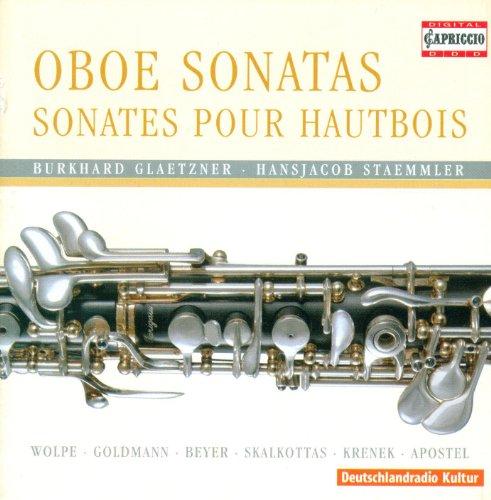 Skalkottas, N.: Oboe Concertino, Ak 28 / Wolpe, S.: Oboe Sonata / Krenek, E.: 4 Pieces, Op. 193