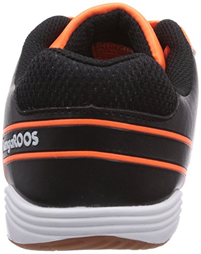KangaROOS KangaCourt 2075, Low-Top Sneaker bambino Arancione (Orange (neon orange/black 795))