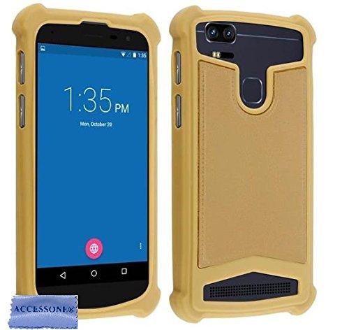 Danew Konnect 501 502 503 504 505 510 525 BM525+ R500 510 Colors (5'' Pouces) Coque Universelle Smartphone Etui Housse Pochette (Coque Or)