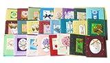 Mini DIY Sortiment alle Gelegenheit Grußkarten, Packung mit 24 Stück
