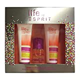 Esprit Geschenkset Life Women EdT 15ml + Shower Gel 75ml, 1er Pack (1 x 165 ml)