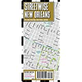 Streetwise New Orleans: City Center Street Map of New Orleans, Louisiana