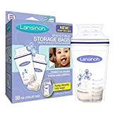 Lansinoh Breast Milk Storage Bags 50-Count