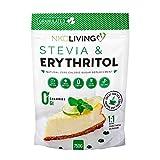 Stevia ed Eritritolo - sostituto 1:1 naturale dello zucchero granulato a zero calorie - 750g