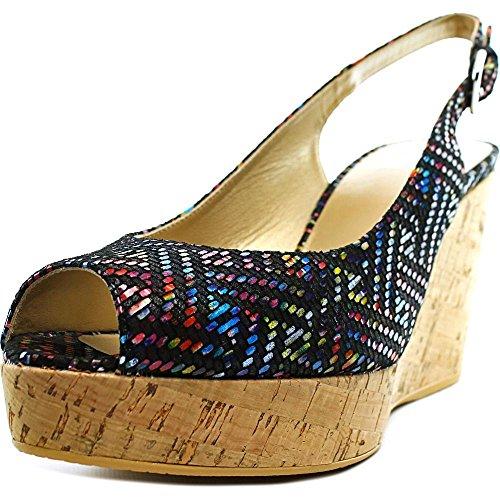 stuart-weitzman-jean-donna-us-9-multicolore-scarpa-con-la-zeppa