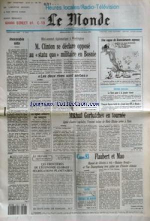 MONDE (LE) [No 15028] du 23/05/1993 - IN...