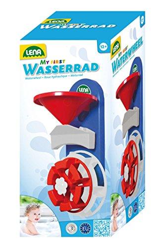 Lena 65471 - Wasserspaß Wasserrad mit Saugnäpfen