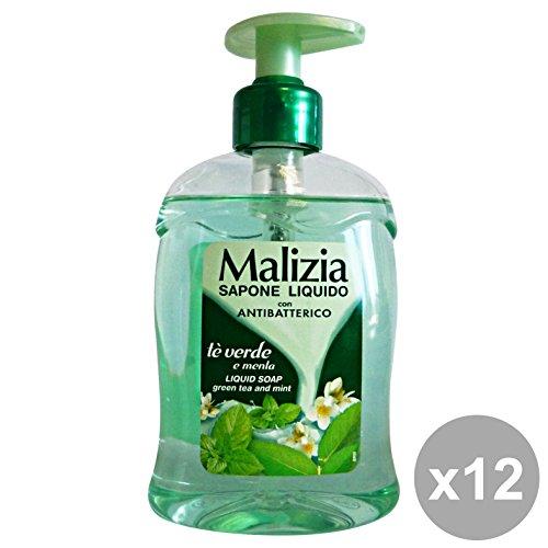 Scheda dettagliata Set 12 MALIZIA Sapone Liquido TE'Verde-LIME 300 Ml. Saponi e cosmetici