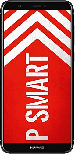 HUAWEI P smart BUNDLE (Dual-Sim Smartphone, 14,35 cm (5,6 Zoll), 32GB interner Speicher, 3GB RAM, Android 8.0) Schwarz + gratis 16 GB Speicherkarte [Exklusiv bei Amazon] - Deutsche Version