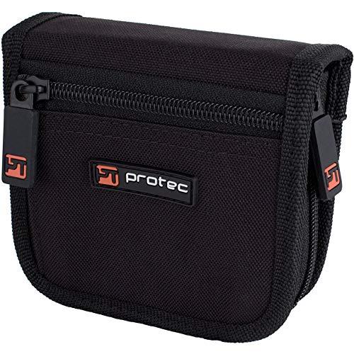 Pro Tec a222zip Double Posaune Mundstück Tasche mit Reißverschluss