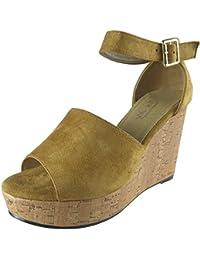 Aux femmes Sangle de cheville Haute Talon Des sandales Taille 3-8