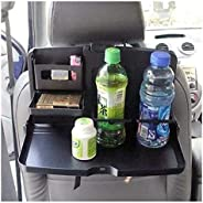 Seupeak Car Seat Back Plate Car Interior Car Table Dining Table Car Table Folding Bracket-Large Dinner Plate S