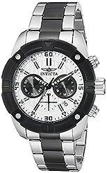 Invicta Mens 21471 Specialty Analog Display Japanese Quartz Two Tone Watch