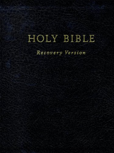 Holy Bible Recovery Version (contains footnotes) (English Edition)