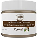 Exotic Coconut : Best Organic & Natural Deodorant For Men, Women, And Teens To Keep You Dry And Fight Odor, Lasts...
