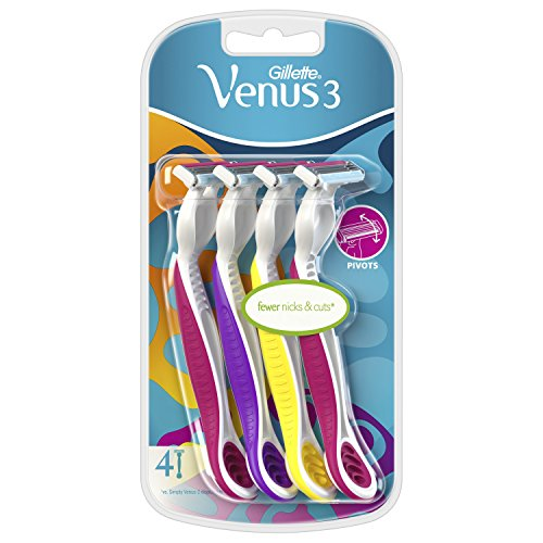 Gillette Venus Original Rasierklingen für Damenrasierer, 4Stück