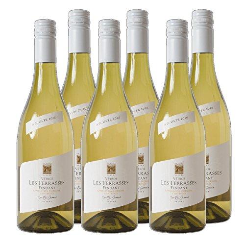 Fendant du Valais AOC les Terrasses 2016 Schweiz Weißwein trocken (6x 0.75 l)
