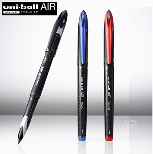 Uniball Air Micro Pen BLU BLK RED (Pack of 3)